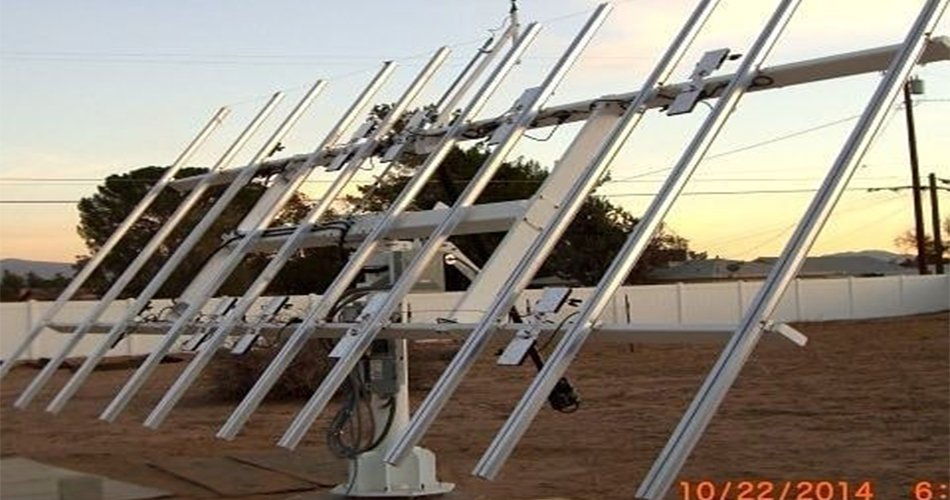 Solar tracking system module products