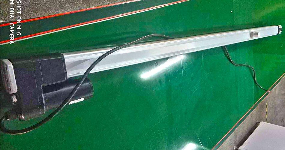 linear solar tracker motors