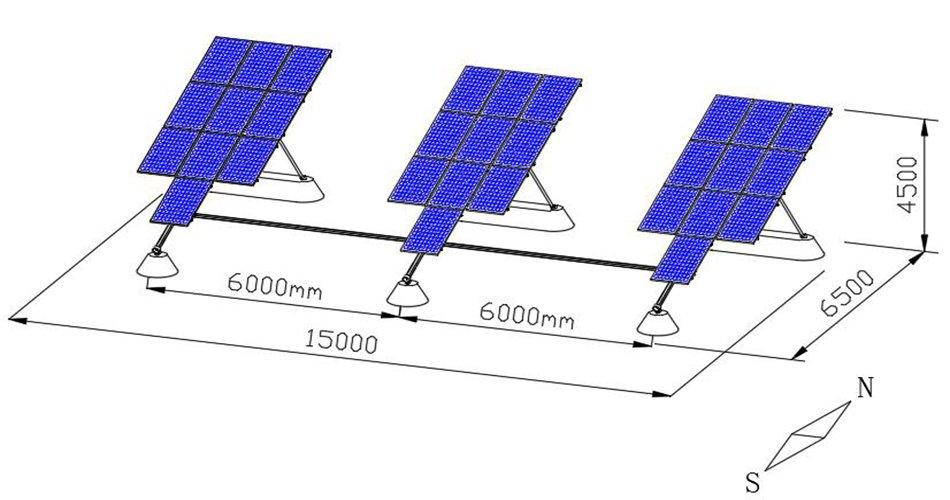 P30 single axis solar trackers